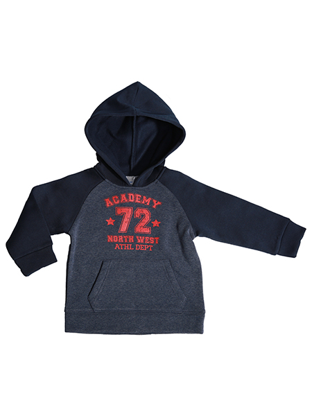 Children's hoodie with print artwork