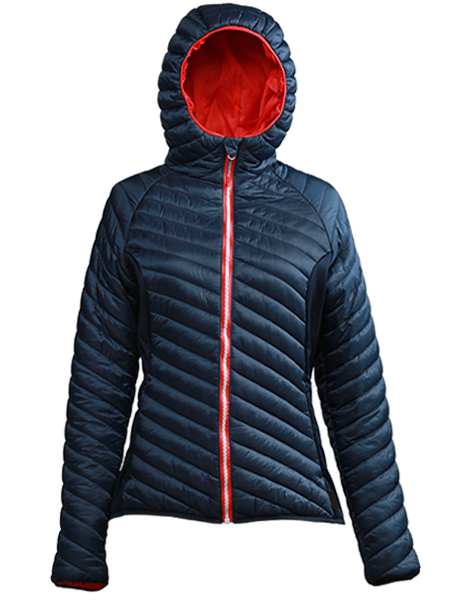 women's puffer jacket with hood